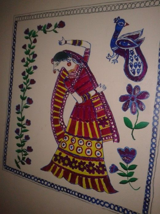 Madhubani painting folk art