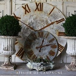 Atelier de Campagne - urns and clock dials