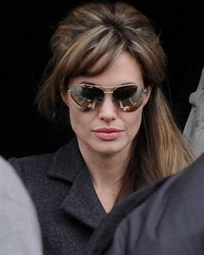 Angelina Jolie Blonde Highlights For The Tourists Movie