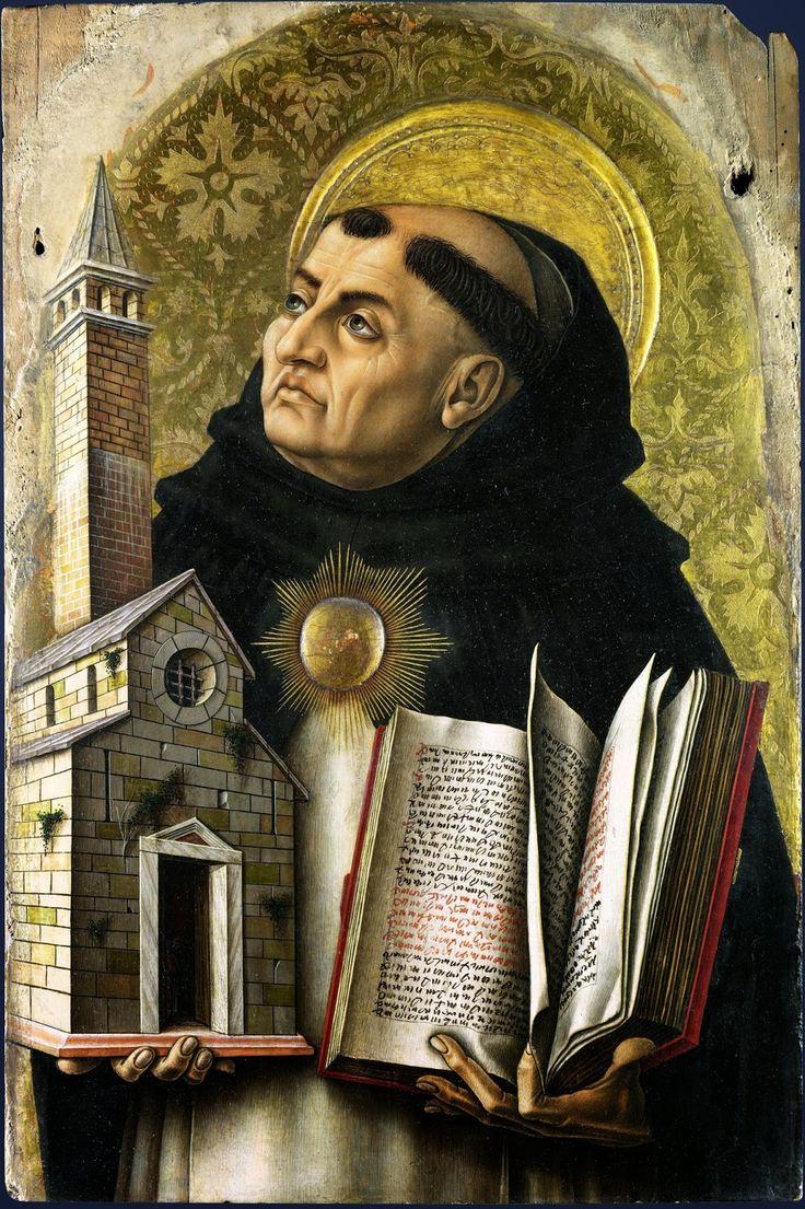 Sacra Galeria: São Tomás de Aquino