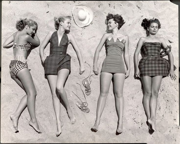 Women Sunbathing 1950s Women In The 1950s Pinterest