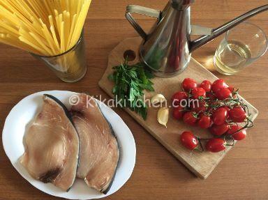 Pasta con pesce spada e pomodorini | Kikakitchen