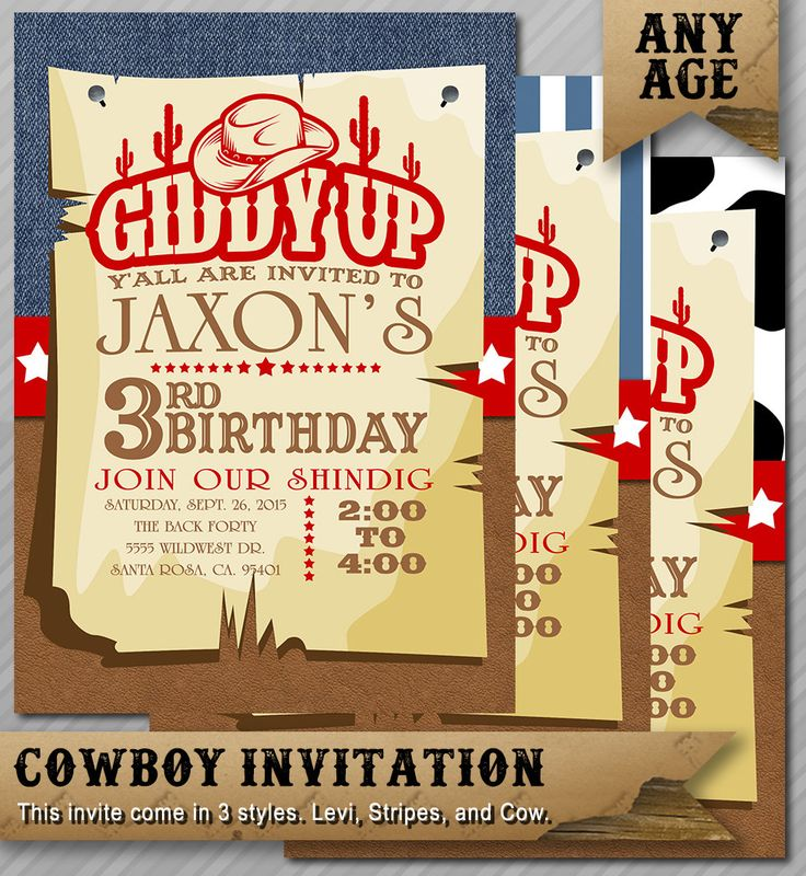 Best 25+ Western invitations ideas on Pinterest | Cowboy ...