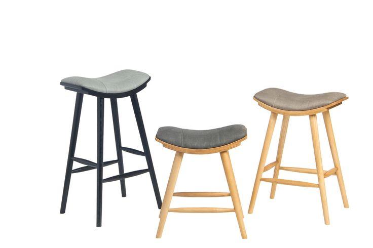 Loma Bar Chair - барные стулья разной высоты. Дизайнерский стул. Барный табурет. Дизайн кафе, бара, ресторана. Стулья для барной стойки. Барная стойка.