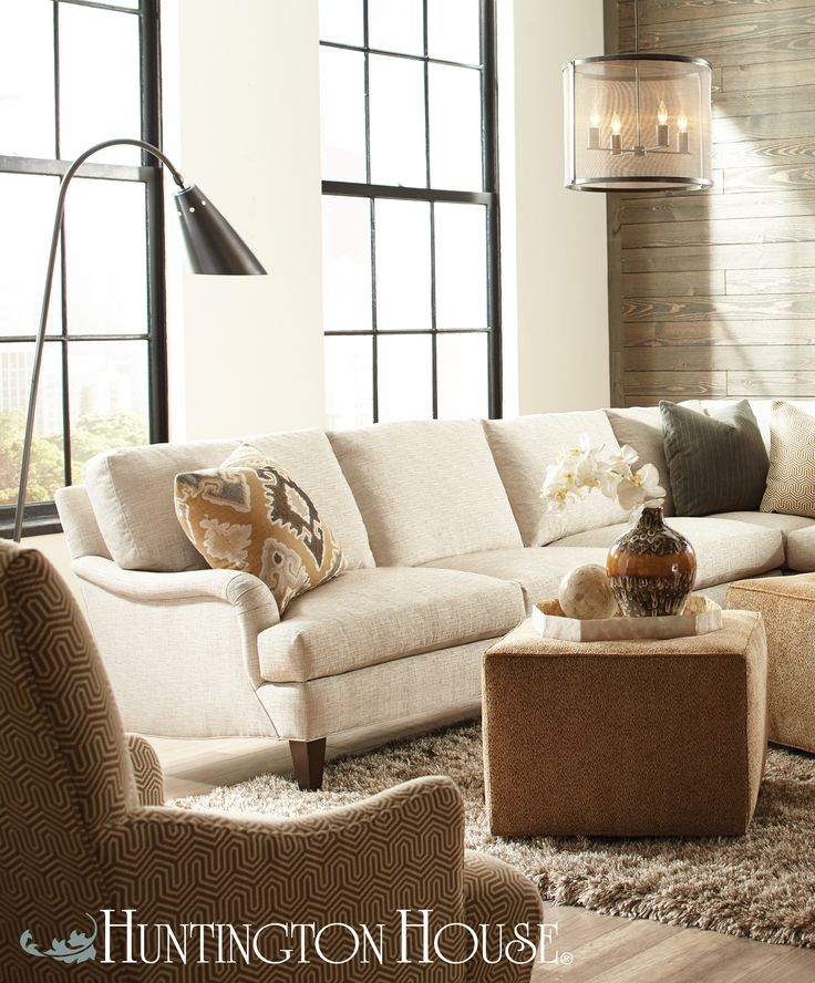 Loving The Way This Sectional Combines Clic And Modern Style For A Truly Eclectic Look That Won T Go Out Of