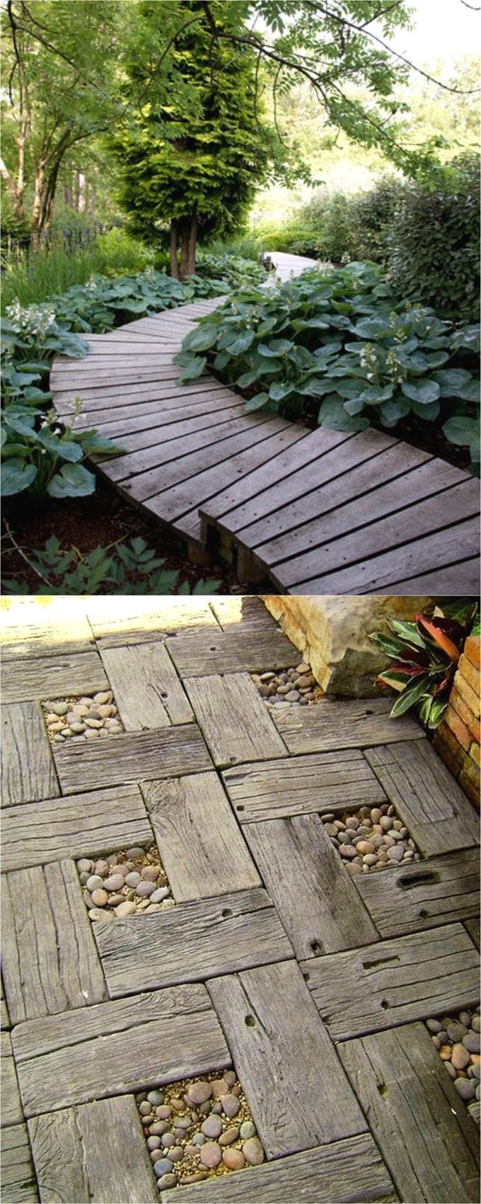 25 best DIY friendly & beautiful garden path ideas and helpful tips from a professional landscape designer! Build your own attractive and functional garden walkways using simple inexpensive materials, and a list of resources / favorite books on garden path construction! - A Piece of Rainbow #LandscapingTips&Tricks
