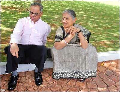 Love Story – Narayana Murthy and Sudha Murthy
