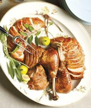 Orange-Rosemary Roasted Turkey recipe