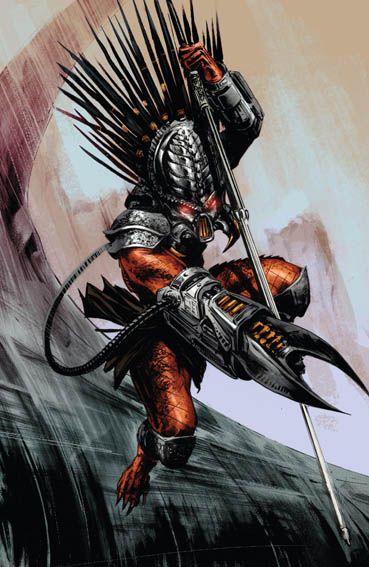 """Predator – Life and Death 3"" (2016) Cover di David Palumbo #DarkHorseComics #Predator"
