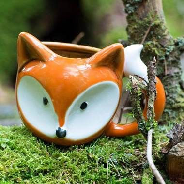 Strange Gifts and You'Re So Foxy Mug at Perpetual Kid. What did the Fox say? - Ummmmmm... coffee, please! Oh, for fox sake! If our adorable So Foxy Coffee Mug i