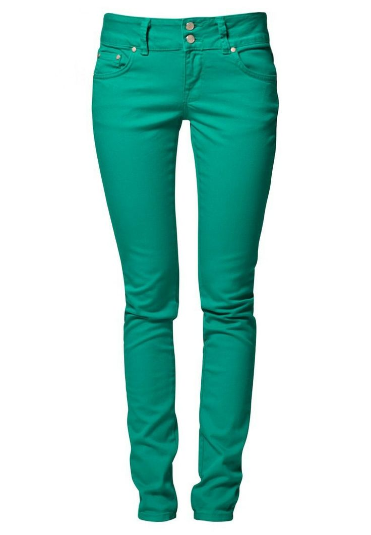 LTB NEW MOLLY Slim fit jeans Groen - LTB NEW MOLLY Slim fit jeans Groen