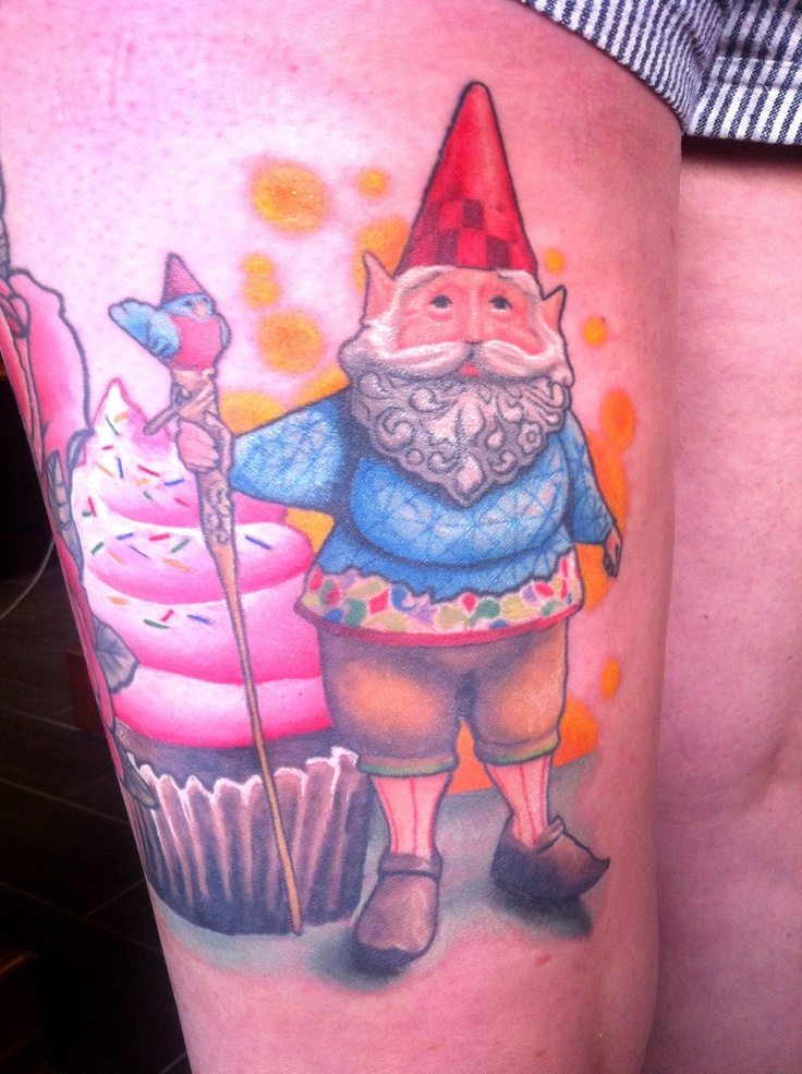 20 best images about gnome tattoos on pinterest for Garden tattoos designs