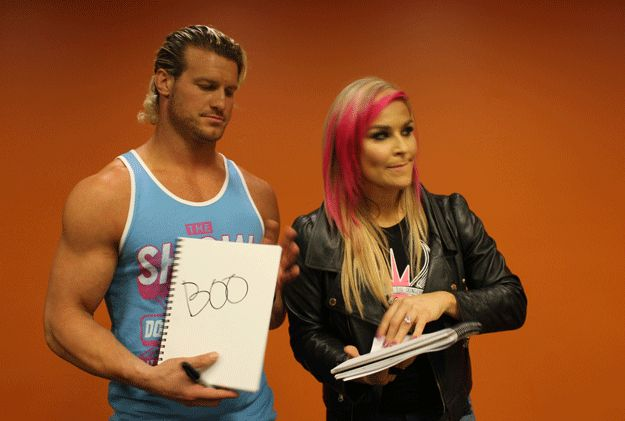 Word you absolutely hate? | 25 Thoughts WWE's Dolph Ziggler And Natalya Have On Totally Random Things