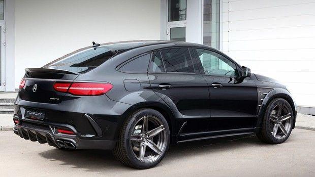 Mercedes GLE Coupé ganha preparação da russa TOPCAR