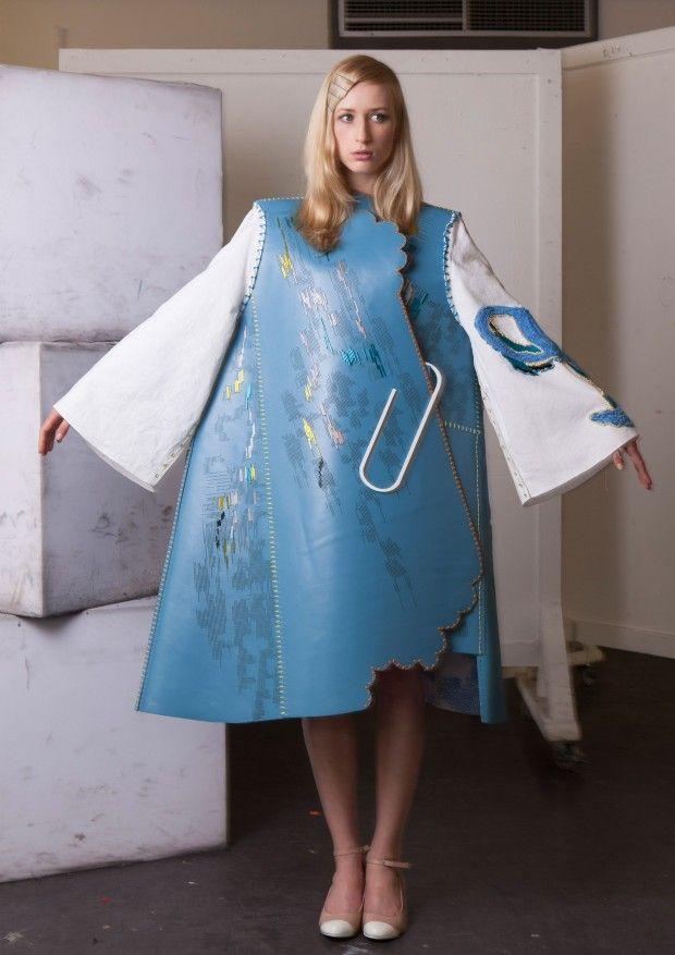 2013 UK Fashion graduate Lauren Smith from the Edinburgh College of Art