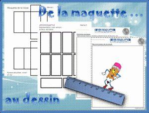 Vers le plan de la classe : De la maquette au plan