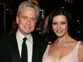 Although Michael Douglas is 25 years older than his wife Catherine Zeta Jones the couple has been together for 12 years. The two famous actors got married in 2000, event that took place shortly after they had their first son, Dylan Michael.