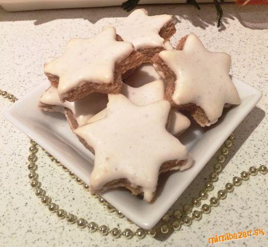 Mandľovo-marcipánové hviezdičky ... bez múky