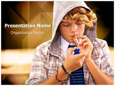 16 best no smoking powerpoint ppt template images on pinterest check out our professionally designed teen smoking ppt template download our teen smoking toneelgroepblik Gallery