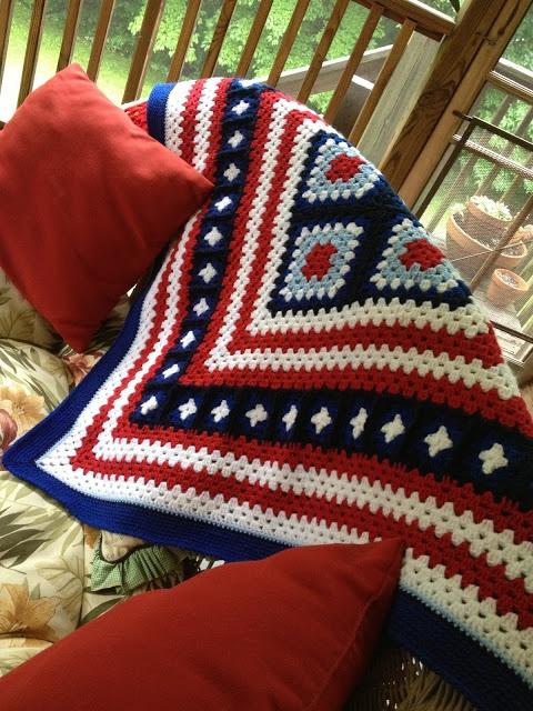 1000 Images About Crochet Patriotic On Pinterest