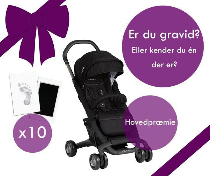 Venter du barn i juli? Eller kender du én, der er gravid?   Denne sommer er der babyboom i Danmark, og blandt alle nybagte forældre til juli babyer udlodder vi 10 x fod- og håndaftryk fra Pearhead og trækker vinderne den 15. august.  For at deltage: skriv din babys fødselsdag og -tidspunkt i en kommentar ;)  HOVEDPRÆMIEN:  Hvis du føder den 20. juli kl. 20.20, eller så tæt på tidspunktet som muligt, så er du den heldige vinder af vores hovedpræmie - en lækker NUNA PEPP LUX klapvogn til en…
