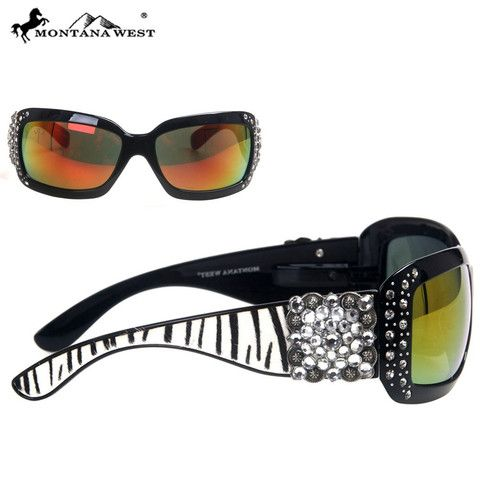 SUNGLASS - BK/CL (FMSGS-2504CL)  See more at http://www.montanawest.ca/collections/sunglasses