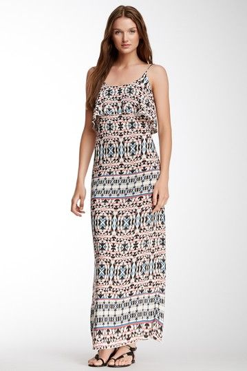 Velvet By Graham & Spencer Marrakesh Printed Challis Maxi Dress on HauteLook