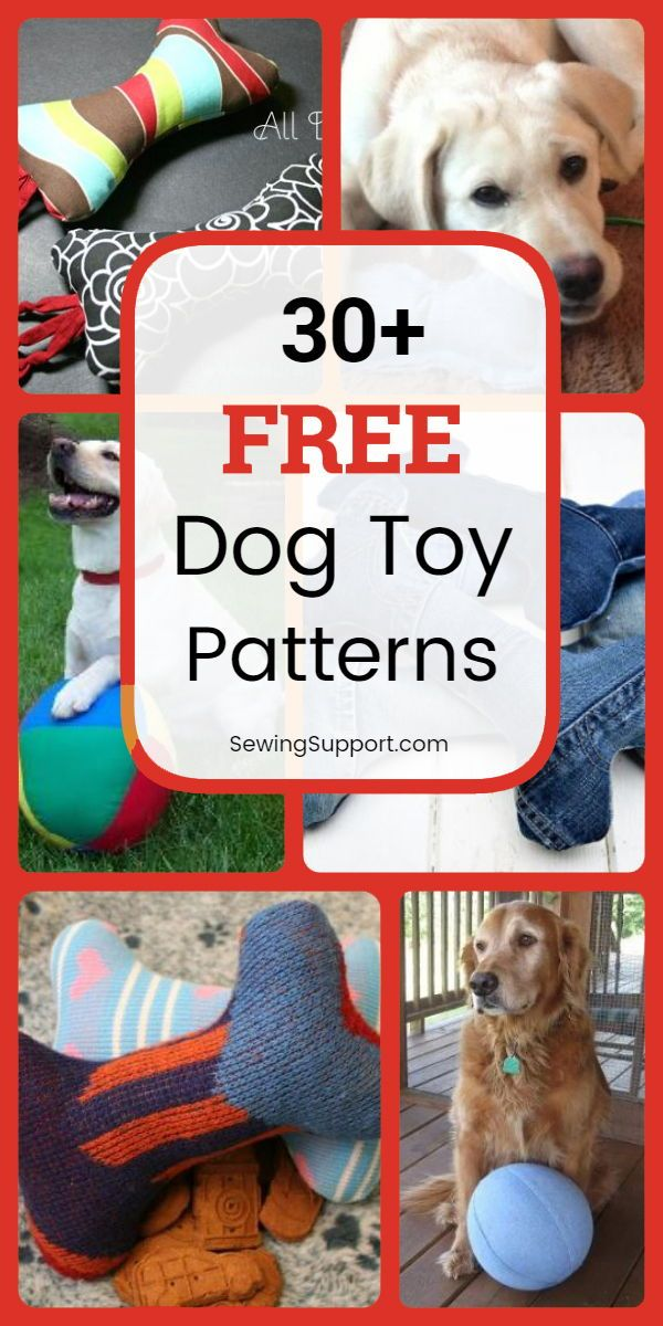 Over 30 Diy Dog Toys You Can Sew Make Your Own Homemade Unique
