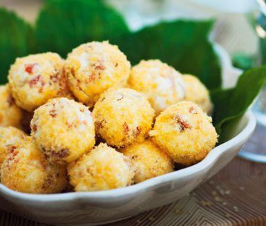 Recept: Cream cheesebollar med