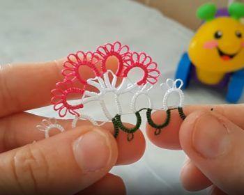 Mekik oyası çiçek modeli yapılışı (videolu anlatım)