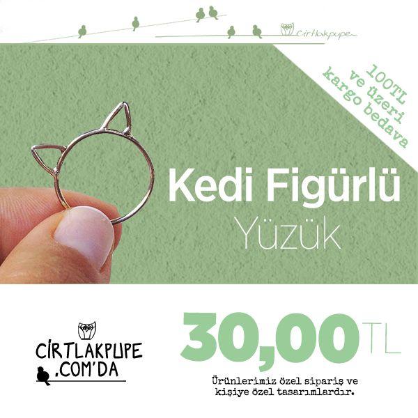 Minicik kedi kulakları gelip parmağınıza konsun mu?  Hemen satın almak istersenizz işte buradaaa; http://cirtlakpupe.com/store/ProductDetails.aspx?productid=96151#.VDUPamd_vi9