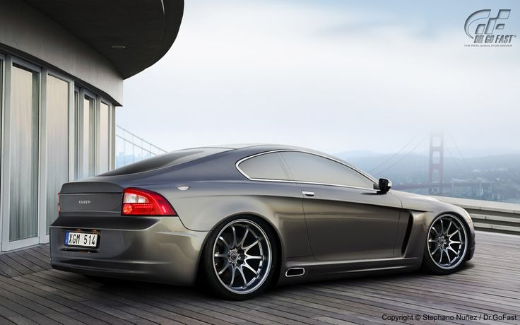 C70 concept, a great variation on the coupe idea.