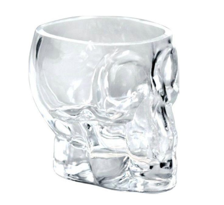 Tiki Skull shotglas 9 cl - Dryckesglas.se
