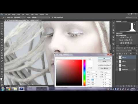 Photoshop Retouching and Body Morph - Timelapse Part II