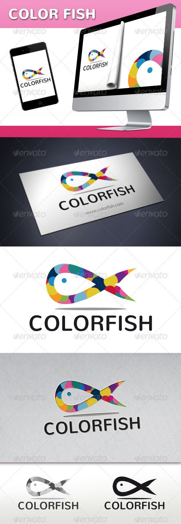 Restaurant logos and names related keywords amp suggestions restaurant - Fish Color Logo