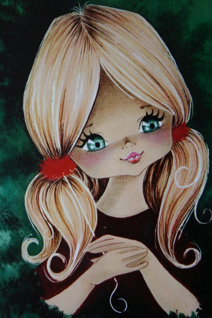 blond meisje met staartjes