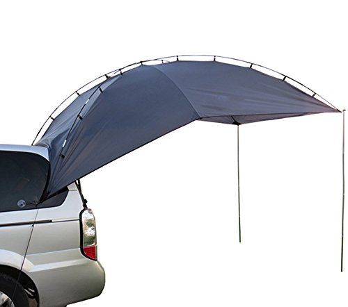 This college student made a rooftop tent for his car for less than a couple of hundred dollars - and during exam week!