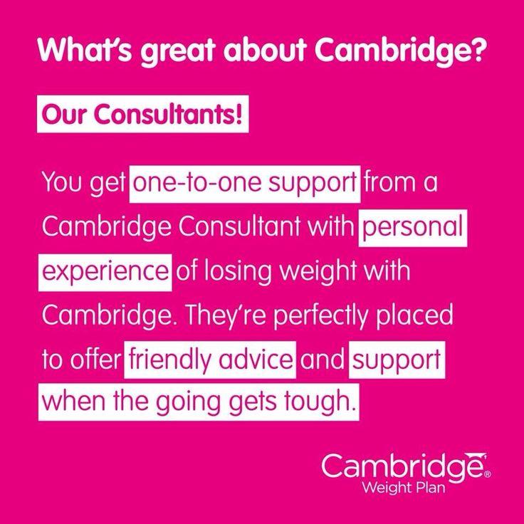 Cambridge weight plan rocks.