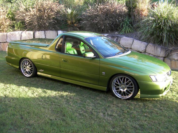 green vy ute - Google Search