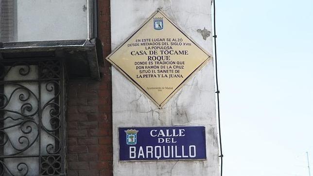 En la Calle Barquillo estuvo la verdadera casa de Tócame Roque #madrid