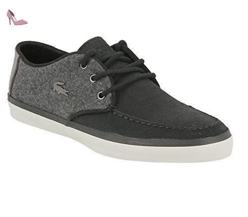 Lacoste Sevrin 416 2 cam blk lth cnv 7 32CAM0098024 pointure 44,5 - Chaussures lacoste (*Partner-Link)