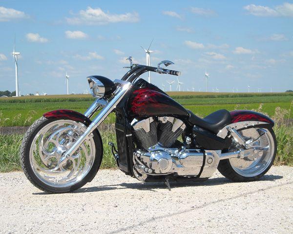 custom honda sabre | Honda Shadow, Steed, Spirit, Aero, Sabre, VTX... the great bikes ...