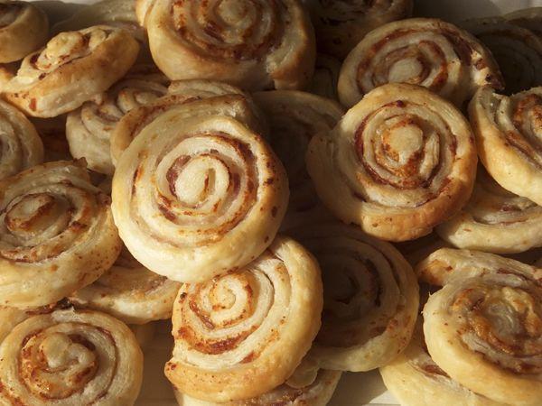 Chiocciole con pancetta e pecorino.