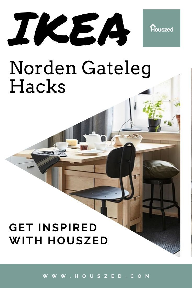 15 Ikea Norden Gateleg Table Hack These Work We Know That Does Some Great Furniture But Why Not Use T