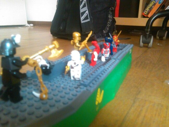 Ninjago battle 1