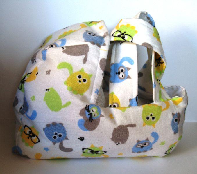 Nosidełko torba dla lalki w Pujapka na DaWanda.com