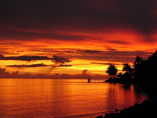 Sunsets.En Fiji, Beautiful Places, Fiji Sunsets, Nature Stunning, Sunset On, Sienna Sunsets, Beautiful Outdoor, Beach Bliss, Sunrises Sunsets