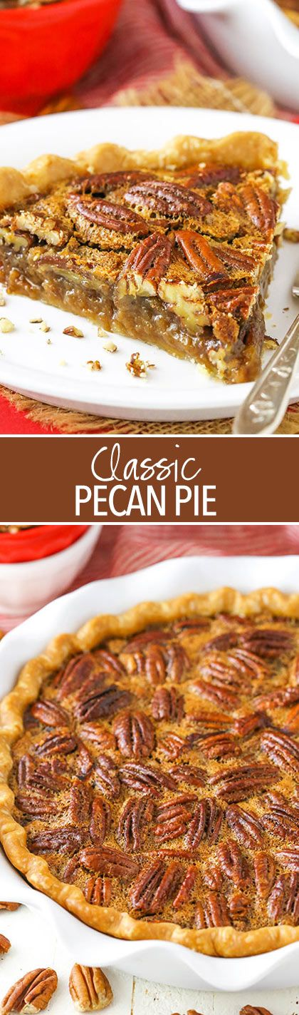 Classic Pecan Pie! Perfect for Thanksgiving!
