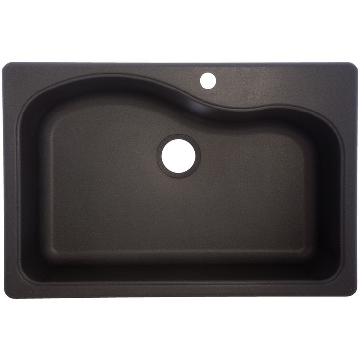 Franke 22 In X 33 In Graphite Single Basin Granite Drop In Or Undermount  Kitchen Sink SGR3322 1