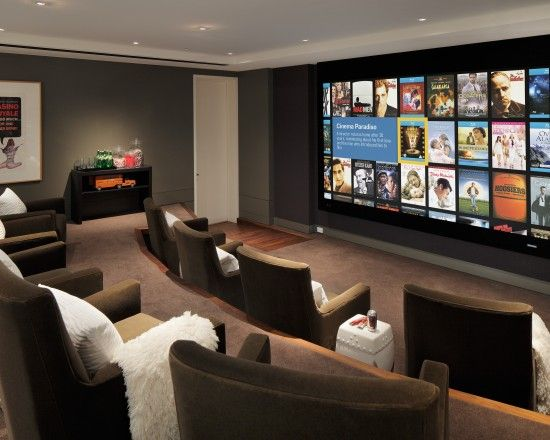 Media Room Design, Pictures, Remodel, Decor And Ideas   Page 2